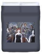 Lady Sings The Blues Duvet Cover