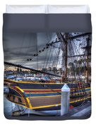 Lady Washington Duvet Cover by Heidi Smith