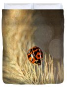 Ladybird Duvet Cover by Darren Fisher