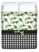 Ladybug Delight Duvet Cover
