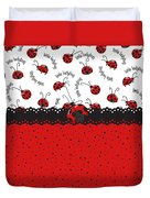 Ladybugs Occasion Duvet Cover