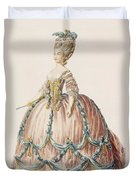 Ladys Gown For The Royal Court Duvet Cover