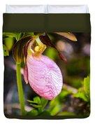 Ladyslipper  Wildflower Duvet Cover