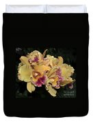 Laeliocattleya Lydia Hubbell Duvet Cover