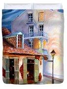 Lafitte's Guest House On Bourbon Duvet Cover