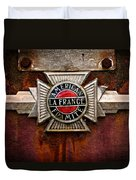 Lafrance Badge Duvet Cover