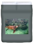 Lager Head Turtle 002 Duvet Cover