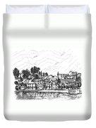Lago Di Maggiore - Mergozzo Duvet Cover
