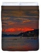 Lago Maggiore Duvet Cover