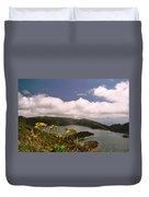Fire Lake Duvet Cover