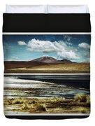 Lagoon Grass Bolivia Vintage Duvet Cover