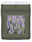 Laguna Beach Flora Duvet Cover