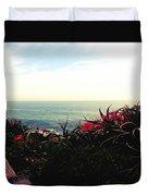 Laguna Beach Seascape Duvet Cover