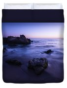 Laguna Beach Sunset In Ca Duvet Cover