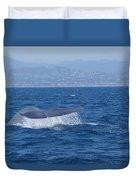 Laguna Whale Duvet Cover