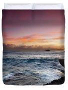 Laie Point Sunrise Duvet Cover