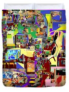 Lail Haseder Gimel 5 Duvet Cover