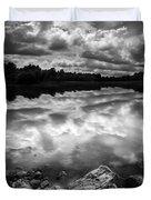 Lake Auburn Twilight Duvet Cover