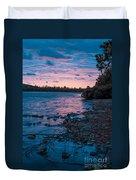 Lake Bailey Sunset Duvet Cover