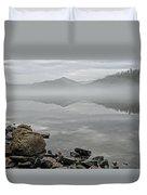 Lake Chatuge Mirror Image Duvet Cover
