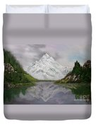Lake Como Italy Duvet Cover