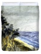 Lake From The Dunes Duvet Cover