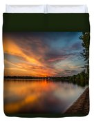 Lake Harriet Grand Finale Duvet Cover