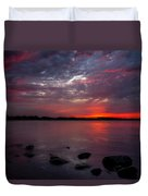 Lake Herman Sunset Duvet Cover