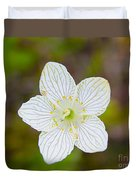 Lake Huron Wildflower Duvet Cover