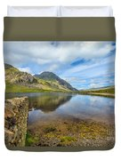 Lake Idwal Duvet Cover