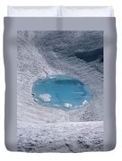 M-05416-lake In Summit Crater On South Sister Duvet Cover