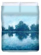 Lake In The Morning Duvet Cover