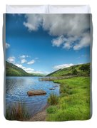 Lake In Wales Duvet Cover
