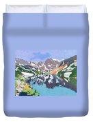 Lake Isabelle Colorado Duvet Cover