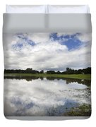 Lake Lagunita Stanford University Duvet Cover