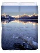 Lake Mcdonald Winter Duvet Cover