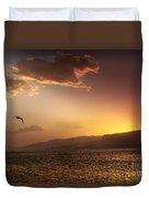 Lake Mead Sunrise Duvet Cover