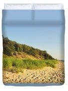 Lake Michigan Dunes 01 Duvet Cover