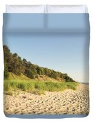 Lake Michigan Dunes 02 Duvet Cover