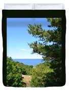 Lake Michigan From The Top Of The Dune Duvet Cover