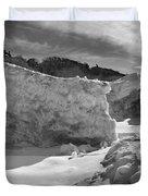 Lake Michigan Ice II Duvet Cover