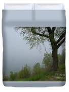 Lake Michigan Obscured Duvet Cover