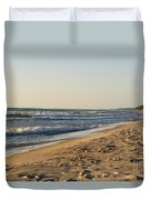 Lake Michigan Shoreline 02 Duvet Cover