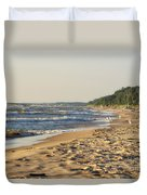 Lake Michigan Shoreline 03 Duvet Cover