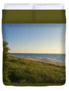 Lake Michigan Shoreline 05 Duvet Cover