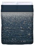Lake Michigan Sparkling Water Duvet Cover