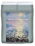 Lake Michigan Sunrise Duvet Cover