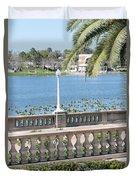 Lake Mirror Promenade Duvet Cover