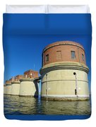 Lake Murray Sc Dam Duvet Cover