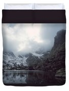 Lake Of Glass Duvet Cover by Eric Glaser